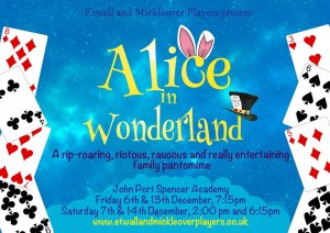 Alice in Wonderland Pantomime Box Office open