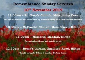 Remembrance Sunday Events
